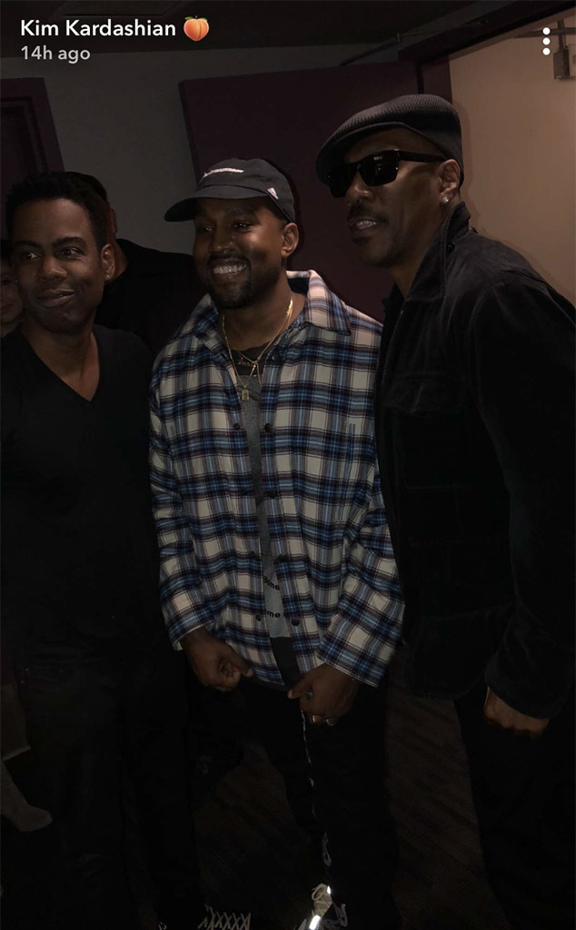 Kanye West, Chris Rock, Eddie Murphy