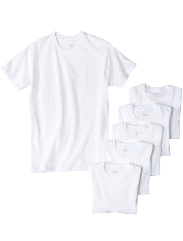 ESC Market, White T-Shirts, Hanes