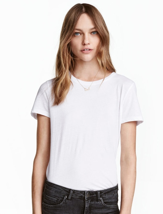 ESC Market, White T-Shirts, H&M