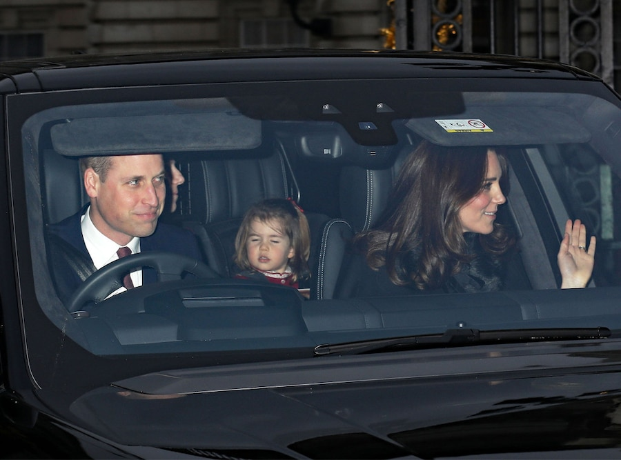 Kate Middleton, Princess Charlotte, Prince William