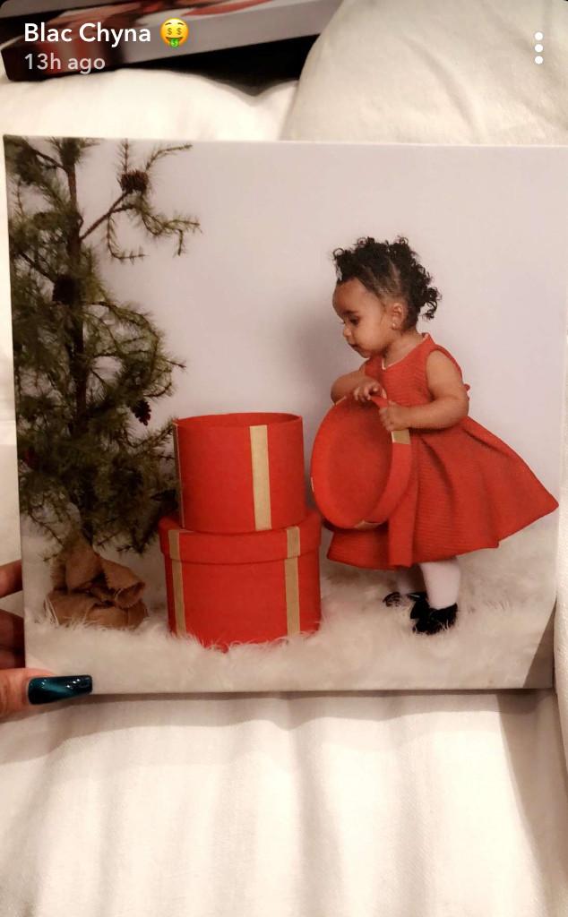 Dream Kardashian, King, Blac Chyna, Christmas Card