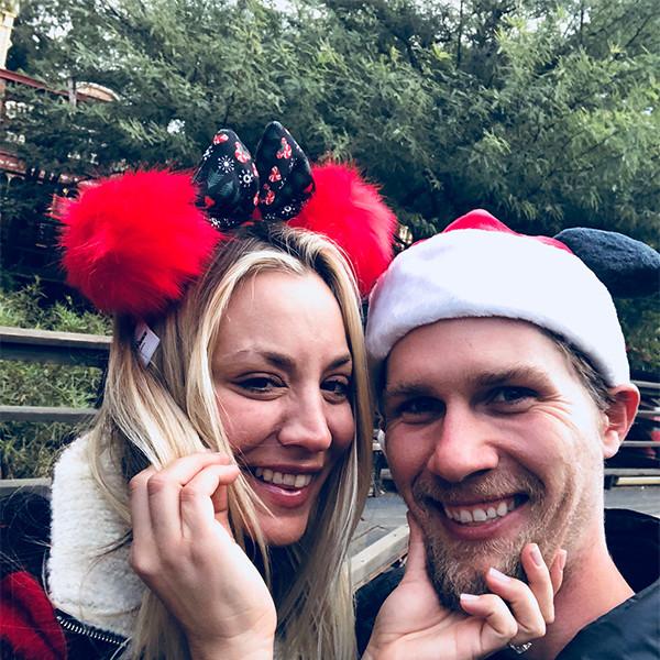 Kaley Cuoco, Karl Cook, Disneyland