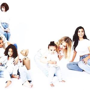 2017 Kardashian Christmas Card Day 22, Dream Kardashian, Kids, Day 23