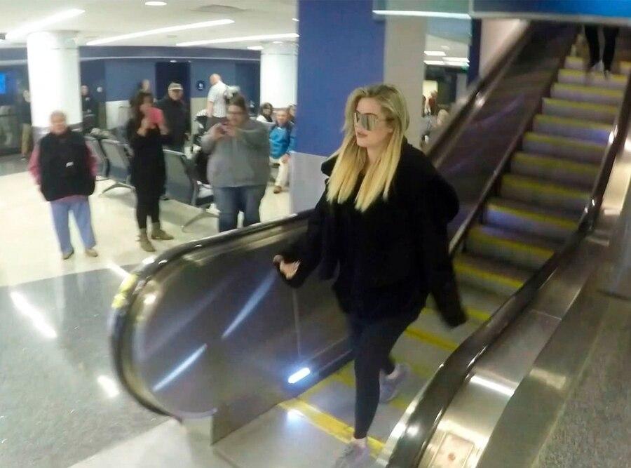Khloe Kardashian, baby bump