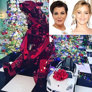 Kris Jenner, Jennifer Lawrence, Christmas, Instagram