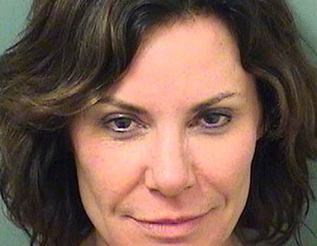 Luann de Lesseps Arrested for Drunk and Disorderly Conduct in Palm Beach