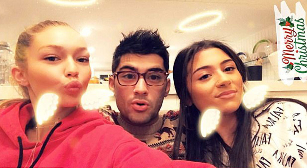 Gigi Hadid and Zayn Malik Celebrate Christmas Eve Together ...