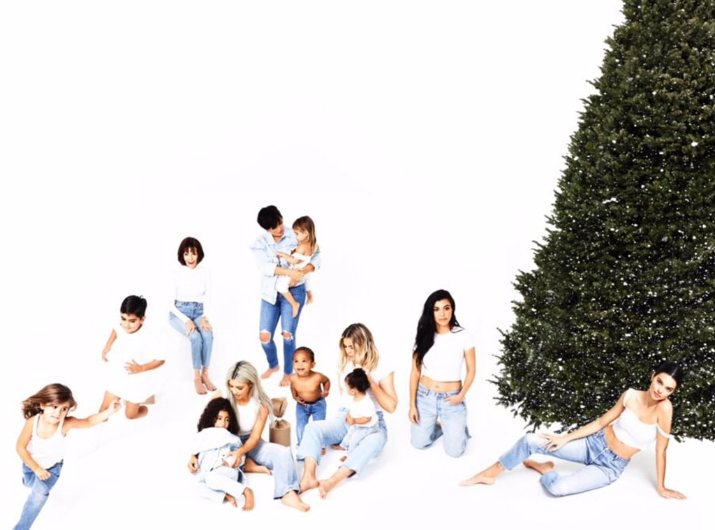 Pregnant Kylie Jenner Attended the Kardashian's Christmas Morning Celebration