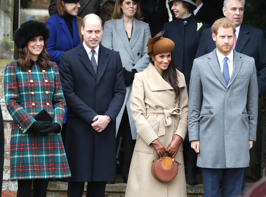 Meghan Markle, Kate Middleton, Prince Harry, Prince William