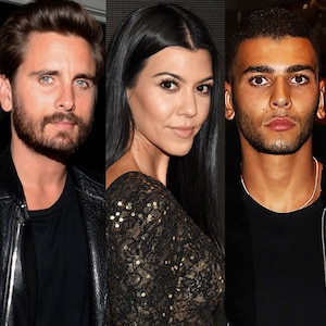 Scott Disick, Kourtney Kardashian, Younes Bendjima