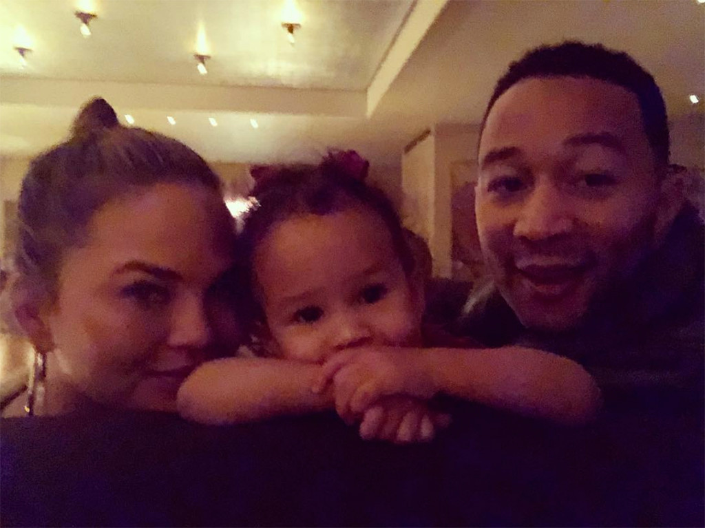 Chrissy Teigen, JOhn Legend, Luna Stephens