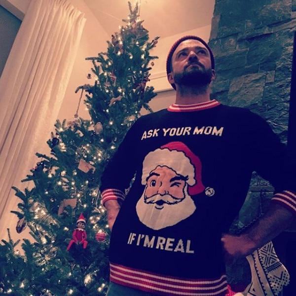 Justin Timberlake, Holiday Sweaters