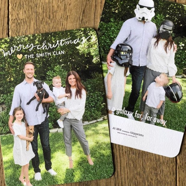 Royal Fashion Beauty Champagner 45131 Essen: Tiffani Thiessen From Celebrity Christmas Cards