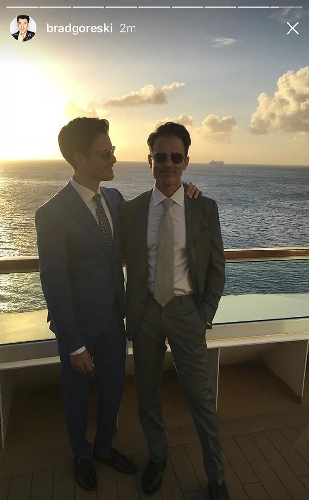 Brad Goreski, Gary Janetti, Wedding