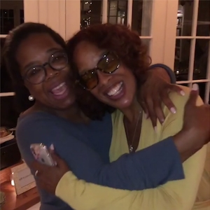 Oprah Winfrey, Gayle King, Birthday