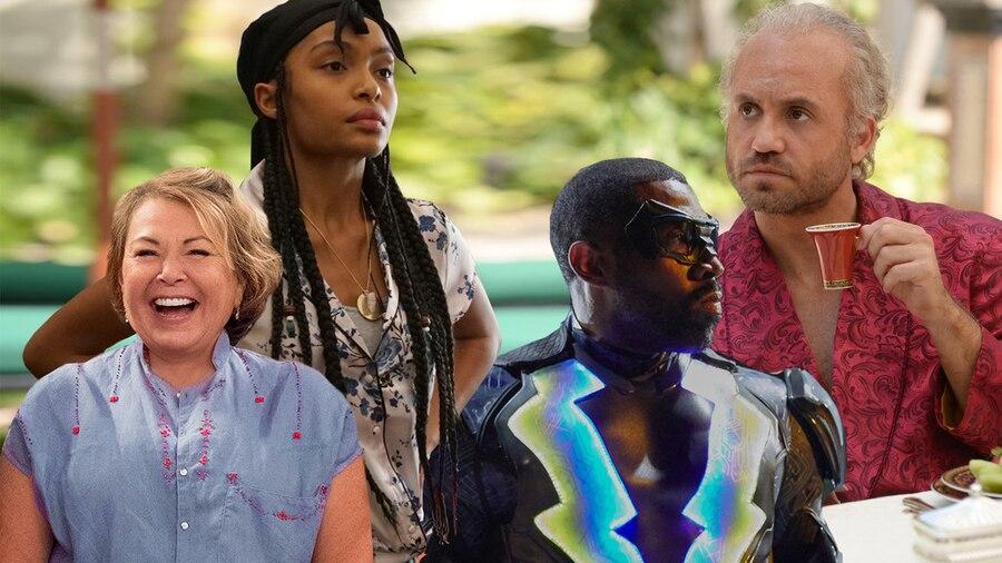 Grown-ish, Roseanne, Black Lightning, American Crime Story: Versace