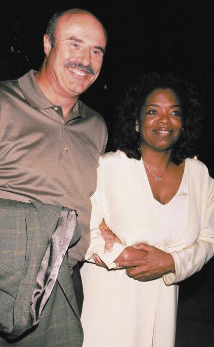 Dr. Phil McGraw, Oprah Winfrey, 2001