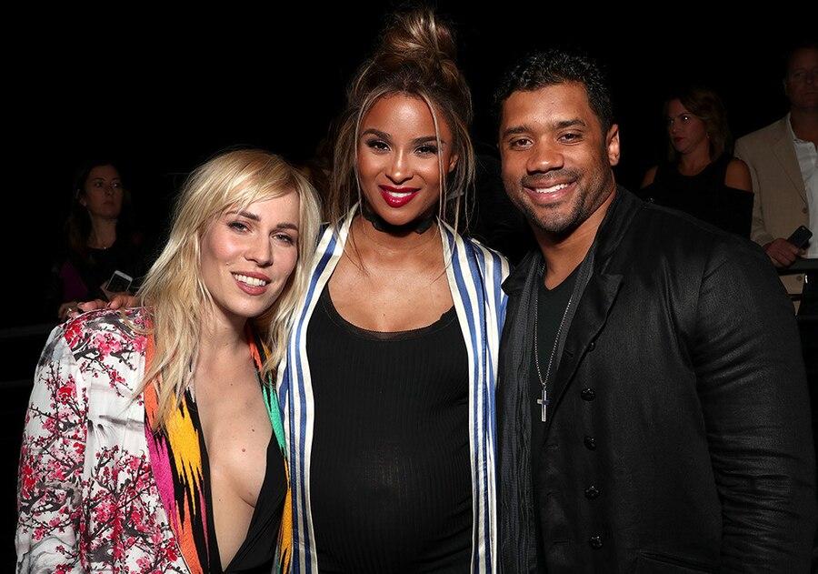 Natasha Bedingfield, Ciara, Russell Wilson, 2017 Grammys After Party