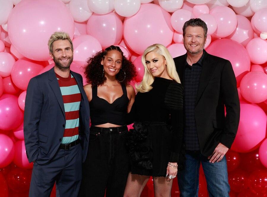 The Voice, Season 12, Adam Levine, Alicia Keys, Gwen Stefani, Blake Shelton