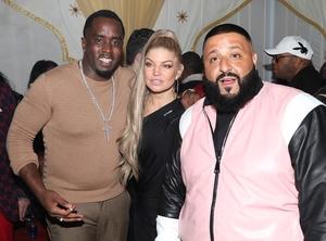 DJ Khaled, Sean Combs, Fergie, birthday party