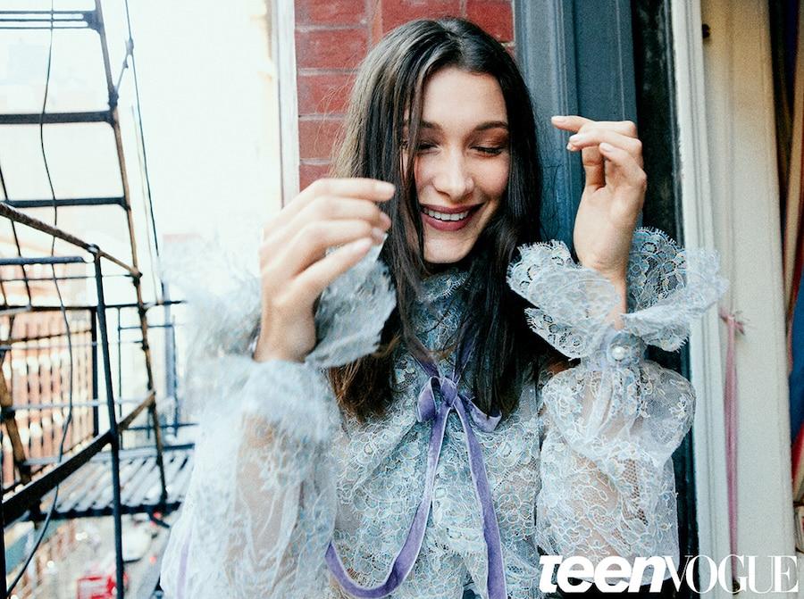 Bella Hadid, Teen Vogue