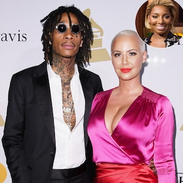 Wiz Khalifa, Amber Rose, NeNe Leakes