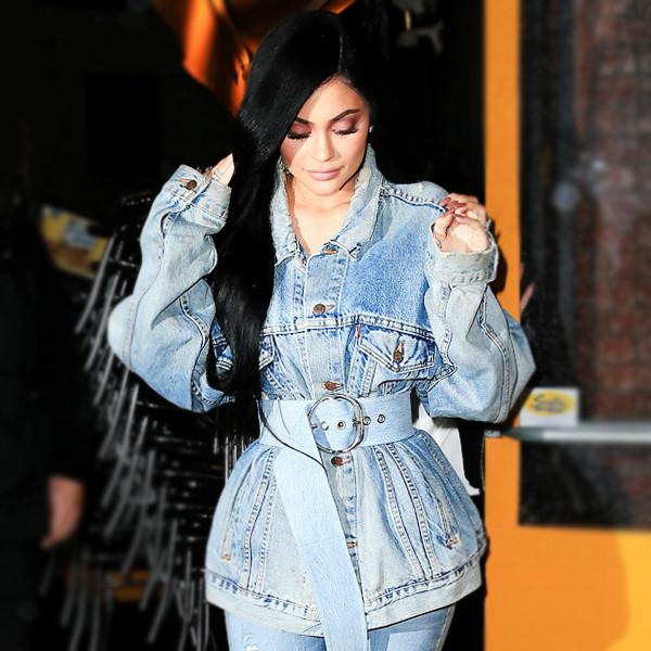 ESC: Belted Coats, Kylie Jenner