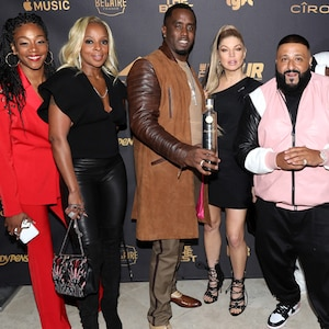 Tiffany Haddish, Mary J. Blige, Sean 'Diddy' Combs, Fergie, DJ Khaled, Akon, Meghan Trainor, birthday party