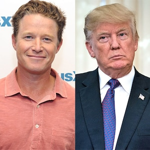 Billy Bush, Donald Trump