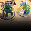 Saint West, Reign Disick, birthday cakes, Snapchat