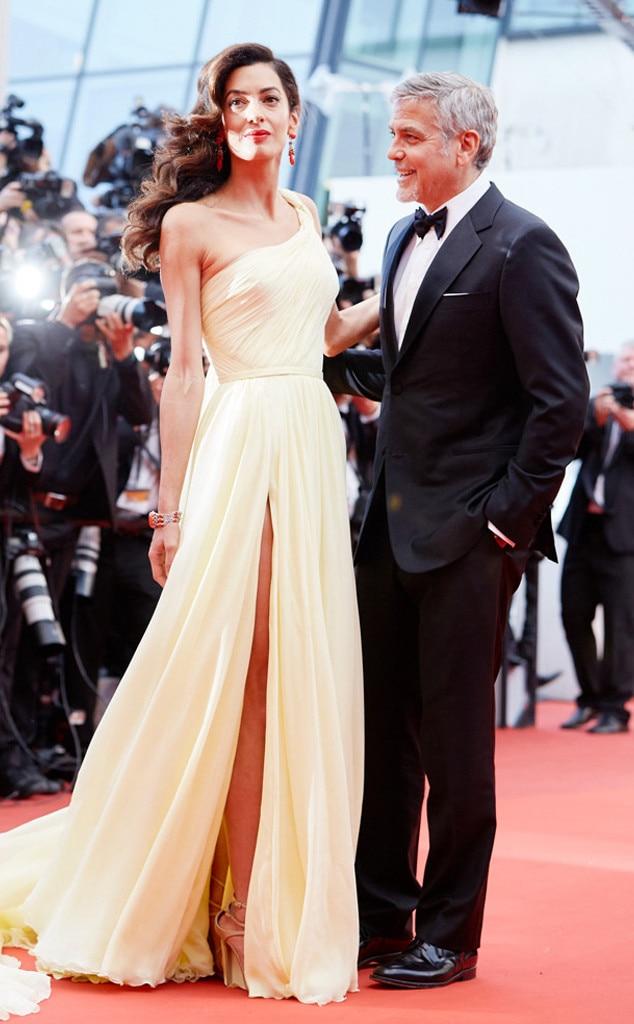 ESC: Amal Clooney, George Clooney, Romance