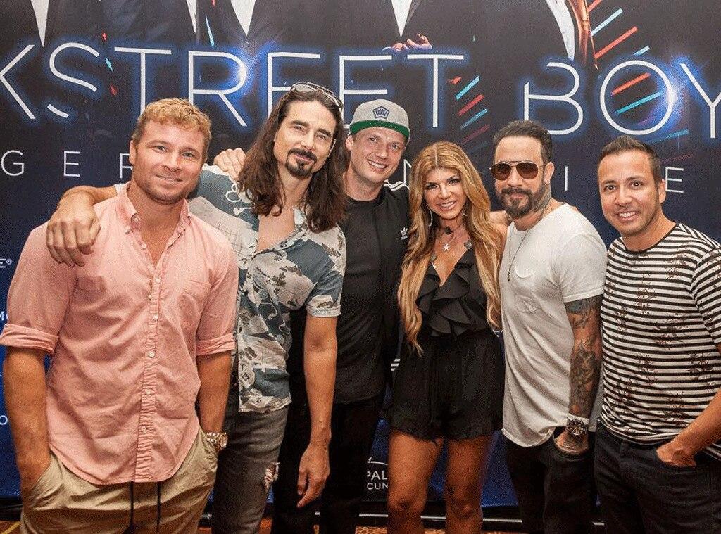 Teresa Giudice, Backstreet Boys