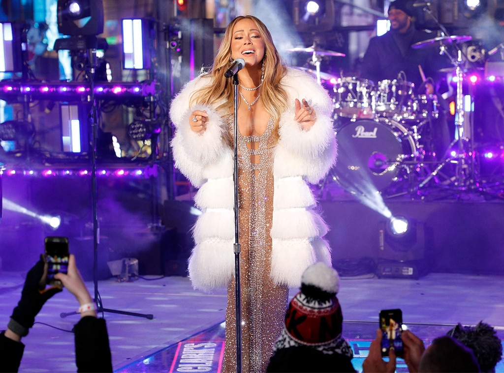 Mariah Carey Makes Her Triumphant Return to New Year's ...