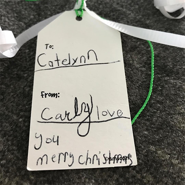 Catelynn Lowell Baltierra, Christmas Gift, Daughter, Carly