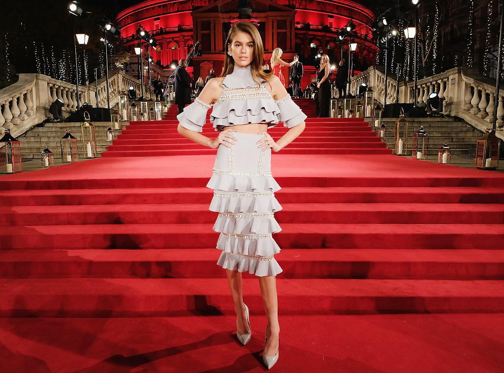 Gerber Auto Body >> Best Dressed at the Fashion Awards 2017: Kaia Gerber, Selena Gomez & More | E! News