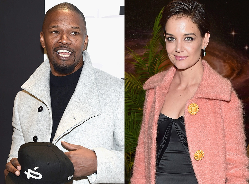 Katie Holmes Low-Key Supported Jamie Foxx in New York City