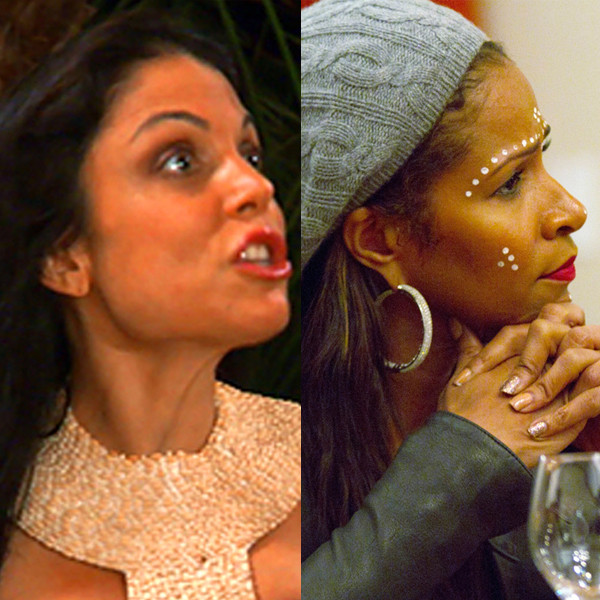 Bethenny Frankel, Sheree Whitfield, Real Housewives, International Incident