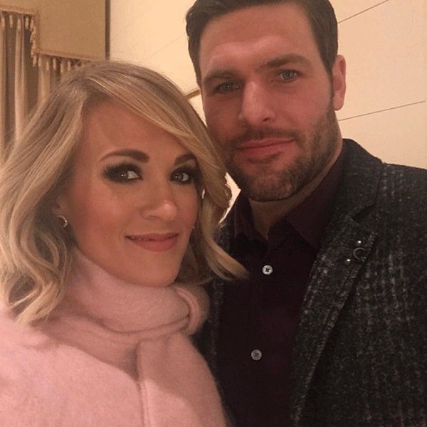 Mike Fisher Celebrates Carrie Underwood and Her Killer