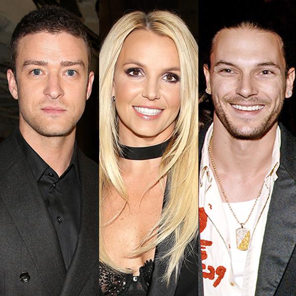 Justin Timberlake, Britney Spears, Kevin Federline