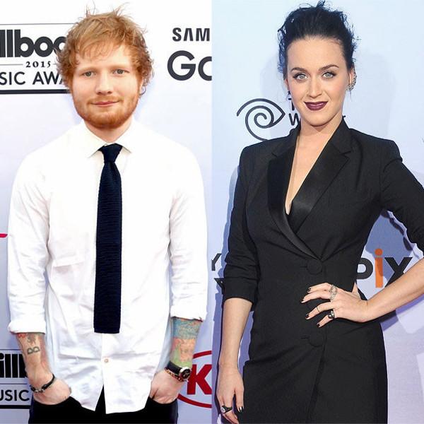 Ed Sheeran, Katy Perry