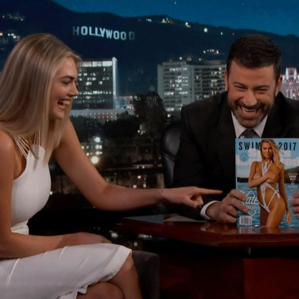 Kate Upton, Jimmy Kimmel