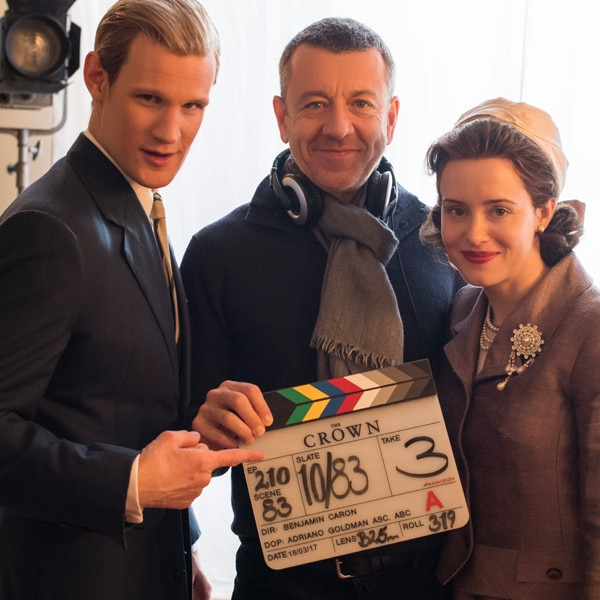 <i>The Crown</i> Season 2 Behind-the-Scenes Photos of All That Glitz and Ro