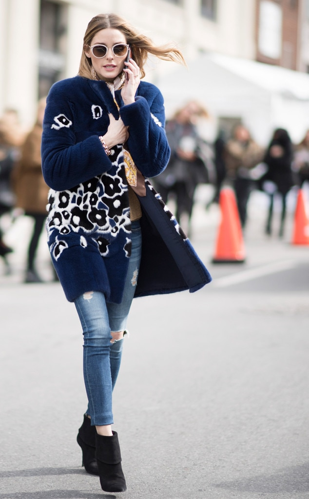 Olivia palermo from best celeb street style from nyfw fall Celeb style fashion uk