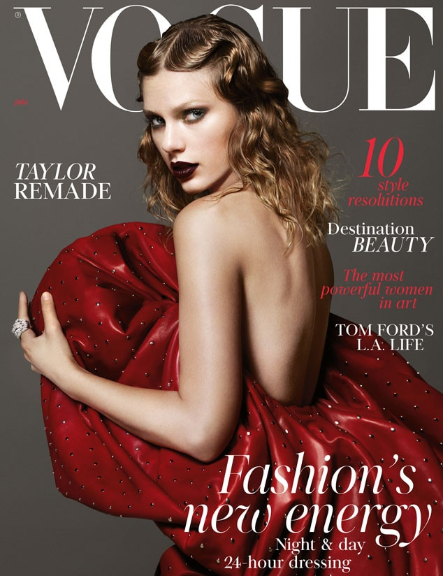 British 'Vogue' Reveals Taylor Swift as January 2018 Cover Star