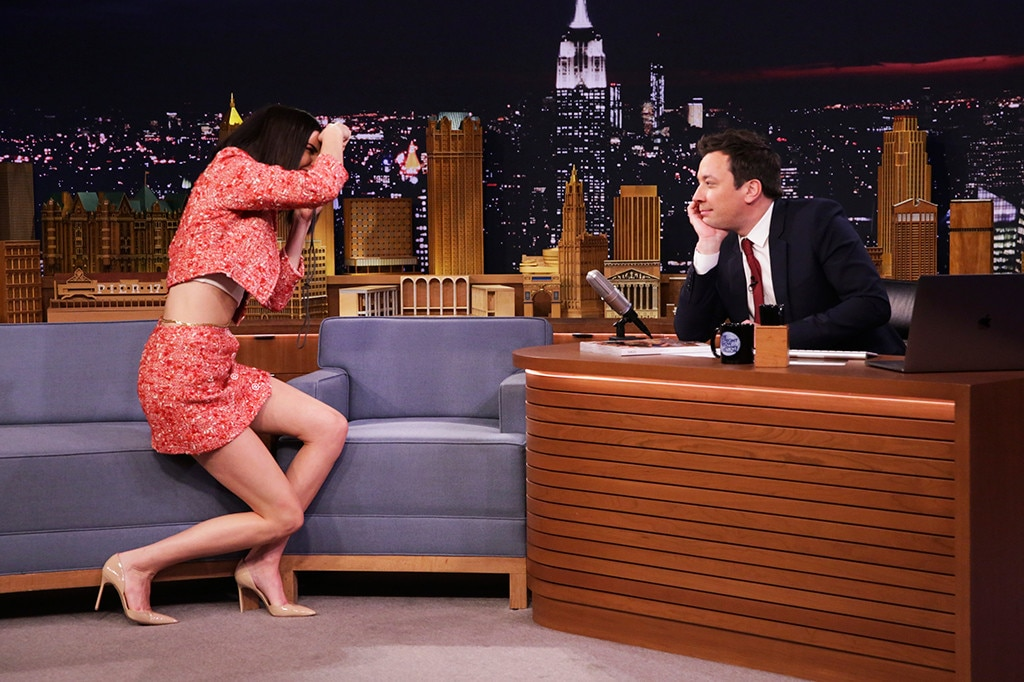 Kendall Jenner Turns Jimmy Fallon Into A Vogue Supermodel