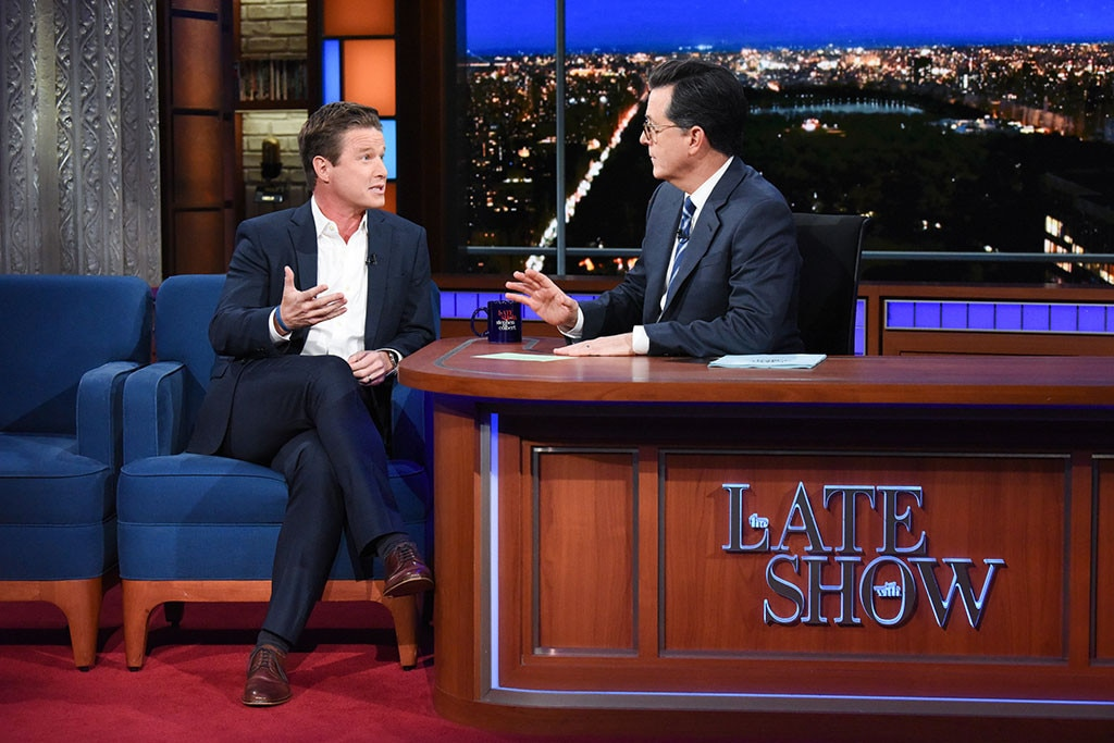 Stephen Colbert makes Billy Bush listen to 'Access Hollywood' tape