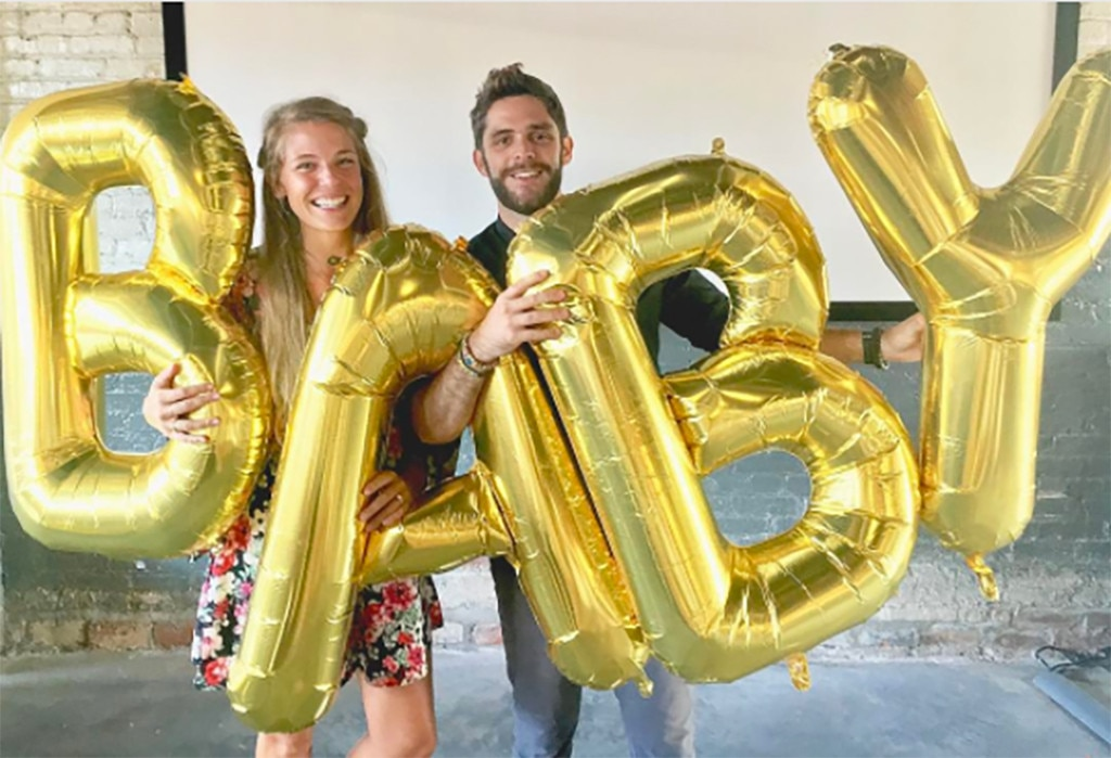 Thomas Rhett Akins, Lauren Akins, Pregnancy Announcement
