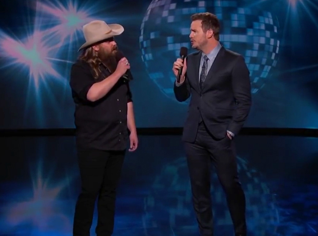 Chris Pratt, Chris Stapleton, Jimmy Kimmel Live