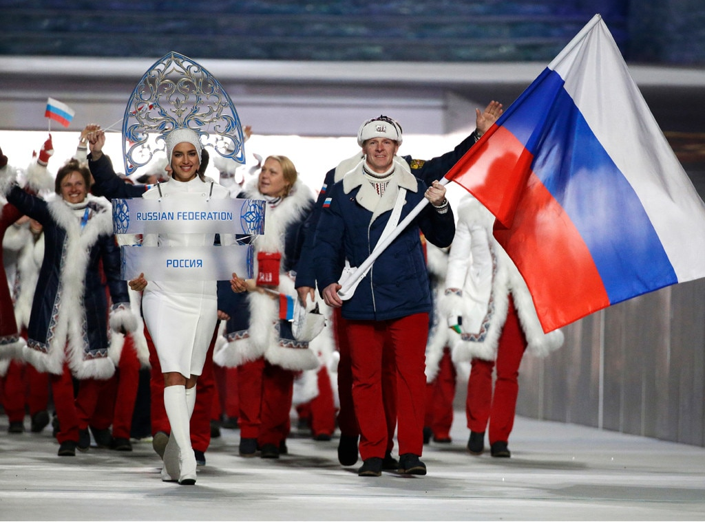 Long dresses 2018 summer olympics