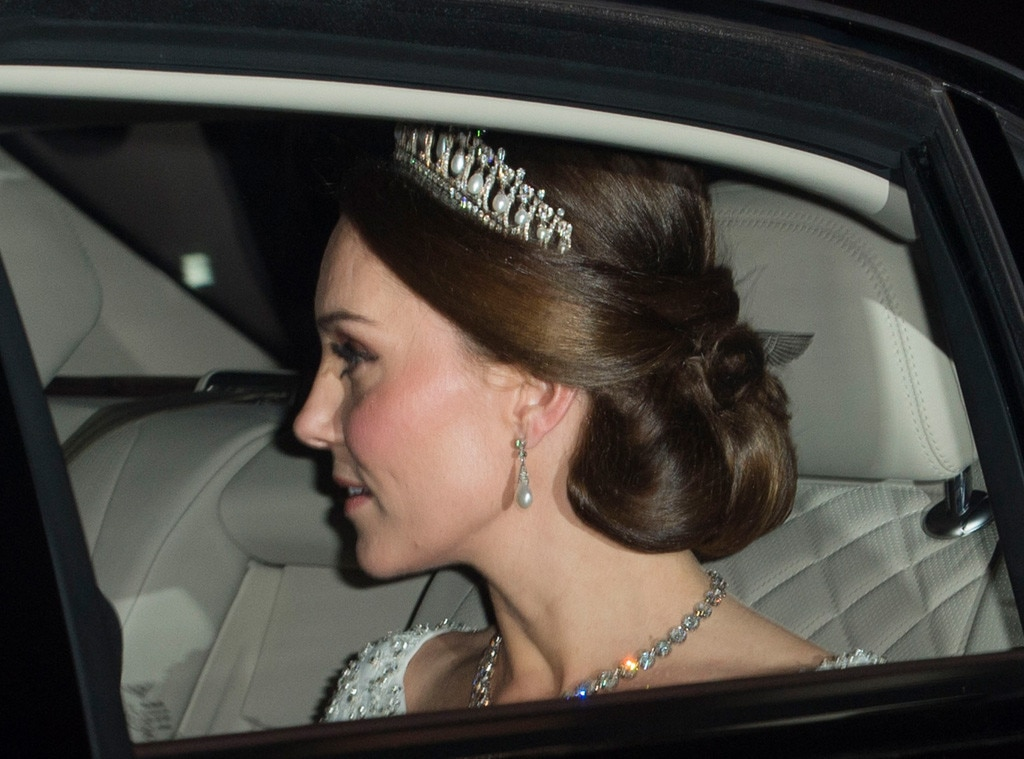 Kate Middleton Wears Princess Diana's Tiara to The Queen's Winter Party
